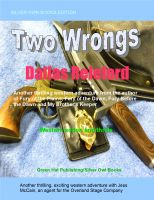 Cover for 'Two Wrongs'