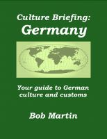 Cover for 'Culture Briefing: Germany - Your guide to German culture and customs'