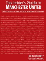 Cover for 'The Insiders Guide to Manchester'
