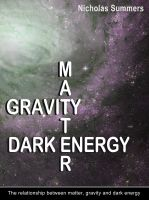 Cover for 'Matter, Gravity and Dark Energy'