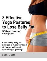 Cover for '8 Effective Yoga Postures to Lose Belly Fat'