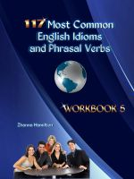 Cover for '117 Most Common English Idioms and Phrasal Verbs: Workbook 5'