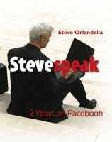 Cover for 'Stevespeak: 3 Years on Facebook'