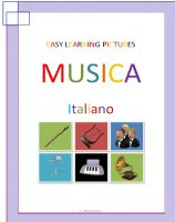 Cover for 'Easy Learning Pictures. Musica.'