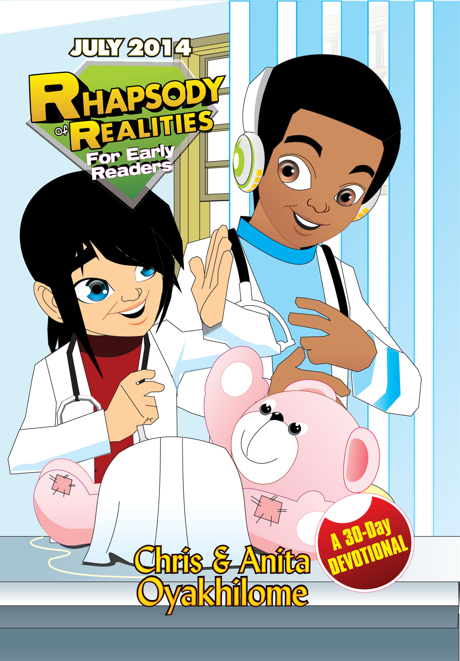 Pastor Chris and Anita Oyakhilome - Rhapsody of Realities for Early Readers – July 2014 Edition