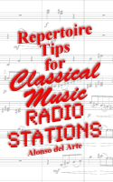 Cover for 'Repertoire Tips for Classical Music Radio Stations'