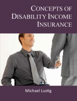 Cover for 'Concepts of Disability Income Insurance'