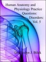 Cover for 'Human Anatomy and Physiology Practice Questions: Disorders: Vol. 5'