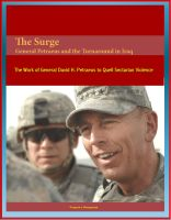 Cover for 'The Surge: General Petraeus and the Turnaround in Iraq - The Work of General David H. Petraeus to Quell Sectarian Violence'