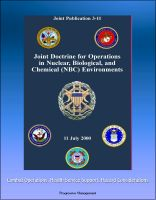 Cover for 'Joint Doctrine for Operations in Nuclear, Biological, and Chemical (NBC) Environments (Joint Publication 3-11) - Combat Operations, Health Service Support, Hazard Considerations'