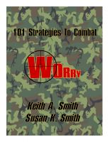 Cover for '101 Strategies to Combat Worry'