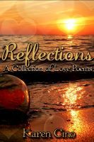 Cover for 'Reflections  A Collection of Love Poems'