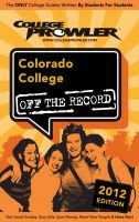 Cover for 'Colorado College 2012'