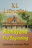 Cover for 'Ramayana The Beginning Litnotes Lesson Plan'