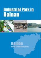 Cover for 'Industrial Parks in Hainan'