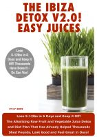 Cover for 'Ibiza Detox Diet Plan V2.0! Easy Juices 2013'