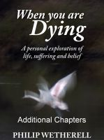Cover for 'WHEN YOU ARE DYING: A Personal Exploration of Life, Suffering and Belief, ADDITIONAL CHAPTERS'