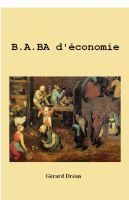Cover for 'B.A. BA d'économie'