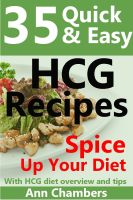 Cover for '35 Quick & Easy HCG Recipes'