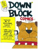 Cover for 'Down The Block Comics'