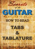 Cover for 'Secrets of the Guitar - How to read tabs and tablature'