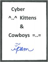 Cover for 'Cyber Kittens and Cowboys'