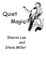 Cover for 'Quiet Magic'