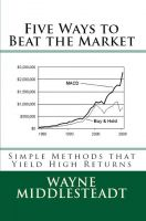 Cover for 'Five Ways To Beat The Market'