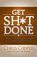 Cover for 'Get Sh*t Done'