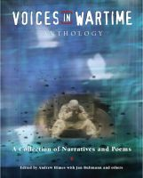 Cover for 'Voices in Wartime Anthology'