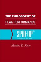 Cover for 'The Philosophy of Peak Performance'