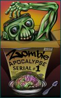 Cover for 'Zombie Apocalypse Serial #1'