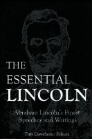 Cover for 'The Essential Lincoln'
