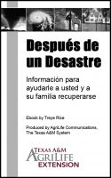 Cover for 'Después de un Desastre'