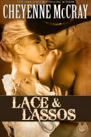 Cover for 'Lace and Lassos'