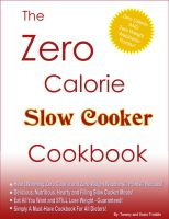 Cover for 'The Zero Calorie Slow Cooker Cookbook'