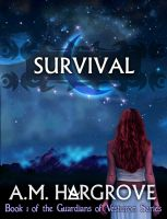 Cover for 'Survival, a YA Paranormal Romance (The Guardians of Vesturon Series, Book #1)'