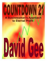 Cover for 'Countdown 21: A Businessman's Approach to Eternal Profit'