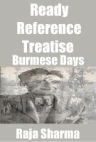 Cover for 'Ready Reference Treatise: Burmese Days'