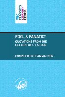 Cover for 'Fool and Fanatic?'