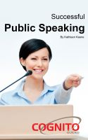 Cover for 'Successful Public Speaking'