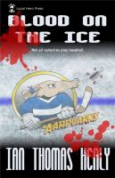 Cover for 'Blood on the Ice'