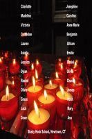Cover for 'Remembering Victims of Sandy Hook School'