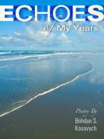 Cover for 'Echoes of My Years: Poetry'