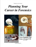 Cover for 'Planning Your Career in Forensics'