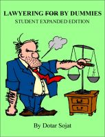 Cover for 'Lawyering By Dummies Student Expanded Edition'