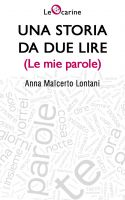 Cover for 'Una storia da due lire (Le mie parole)'
