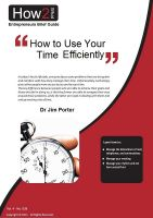 Cover for 'How to Use Your Time Efficiently'