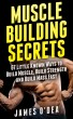 Muscle Building Secrets: 67 Little Known Ways to Build Muscle, Build Strength and Build Mass Fast by adeaze94