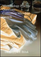 Cover for 'Microbiology Practice Questions: Controlling Microbial Growth'